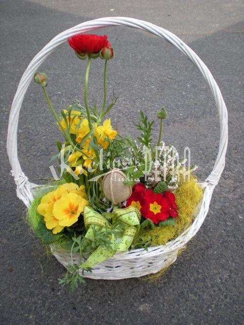f58f4b049 Jarní a Velikonoční dekorace na hrob č. 23.